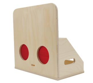 例)「さわってあてようゲーム」セット(なんだろうbox)